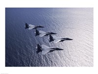 F-15 Fighters US Air Force Fine Art Print