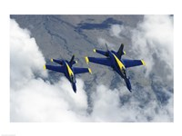 U.S. Navy Blue Angels F-18 Hornets photography Fine Art Print