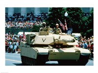 1A1 Ambrams Main Battle Tank Fine Art Print
