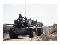Tank Framed Print