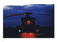 UH-60A Black Hawk Helicopter Fine Art Print