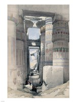 Temple of Karnacs Egypt Fine Art Print