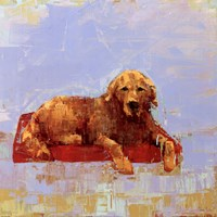 Golden Dog Fine Art Print
