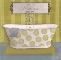 Polka Tub I Fine Art Print