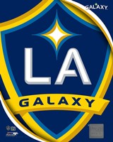 2011 LA Galaxy Team Logo Fine Art Print