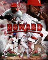 Ryan Howard 2011 Portrait Plus Fine Art Print