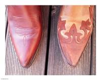 Cowboy Boot Tips Fine Art Print