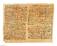 Edwin Smith Papyrus Fine Art Print