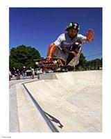 Santa Cruz Skateboard Fine Art Print