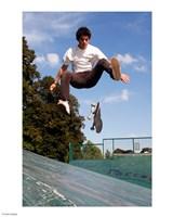 Skateboarding Jump Fine Art Print