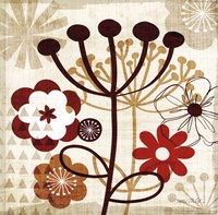 Floral Pop III Fine Art Print