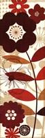 Floral Pop Panel I Framed Print