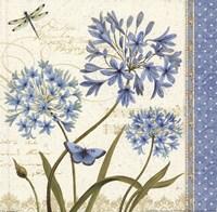 Blue Melody IV Fine Art Print