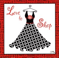 Love to Shop Fine Art Print
