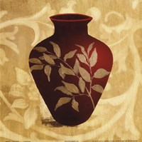 Red Vase II Fine Art Print