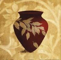 Red Vase I Framed Print