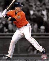 Buster Posey 2011 Spotlight Action Fine Art Print