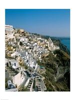 Santorini, Cyclades Islands, Greece Fine Art Print