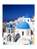Santorini, Oia , Cyclades Islands, Greece Framed Print
