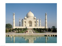 Photo of theTaj Mahal Framed Print