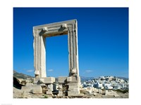 Portara Gateway, Temple of Apollo, Naxos, Cyclades Islands, Greece Fine Art Print