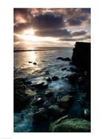 Sunrise over the sea, Cabrillo National Monument, San Diego, California, USA Fine Art Print