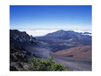 Haleakala Crater Haleakala National Park Maui Hawaii, USA Framed Print