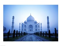 Facade of the Taj Mahal, India Fine Art Print