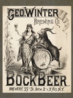 Bock Beer Brewing Company Fine Art Print