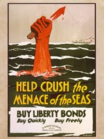 Help Crush the Menace of the Seas Fine Art Print