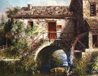 The Old Stone Mill Fine Art Print