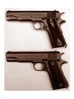 M1911 and M1911A1 Pistols Fine Art Print