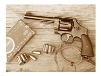M1917 Revolver Fine Art Print