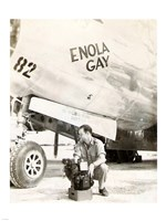 Enola Gay Framed Print
