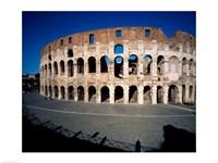 Colosseum Rome Italy Framed Print