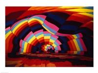 Close-up of a hot air balloon Fine Art Print
