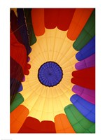 Close-up of a hot air balloon, Steamboat Springs, Routt county, Colorado, USA Fine Art Print