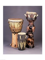 West African Drums Fine Art Print