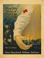 War Fund Week Fine Art Print