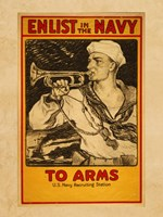 Enlist in the Navy Fine Art Print