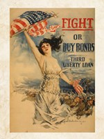 Fight or Buy Bonds Fine Art Print
