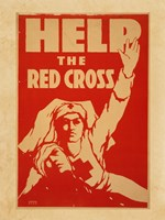 Help the Red Cross Fine Art Print