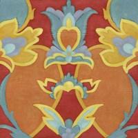 Alhambra Pattern I Framed Print