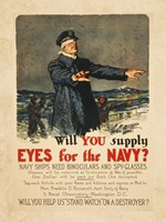 Eyes for the Navy Fine Art Print