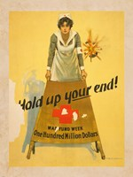 Hold Up Your End! Fine Art Print