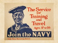 Join the Navy Fine Art Print