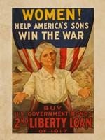 2nd Liberty Loan 1917 Fine Art Print