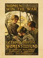 Women Win the War Fine Art Print