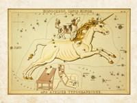 Monoceros Canis Minor and Atelier Typographique Fine Art Print