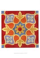 Alhambra Pattern II Framed Print